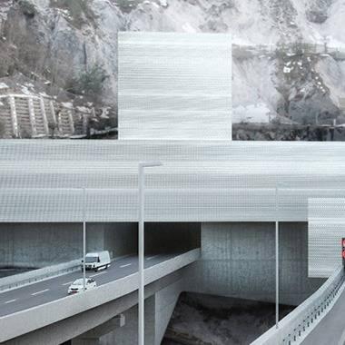 Karawanken Tunnel Nordportal